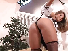 French Maid Jennifer Stone good Assfuck