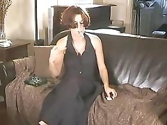 Natural Mature Woman Smokes And Gives Blowjob