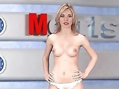 Russian Moskow  grl TV Natasha Volkova