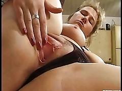 Nice wife masturbating