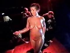 Licenciada Tetarelli shows absolutely naked body
