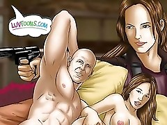 Die Hard Cartoon Fucking
