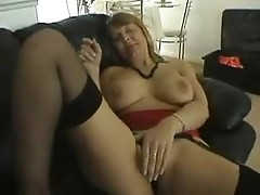 Older age mature damsel exhibits all her amenities close-up POV