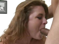 Cute amateur getting her first huge cock and loves it