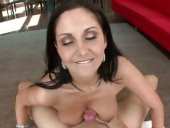Filthy Ava Addams gets blasted with hot cock juice