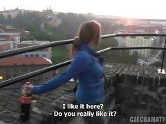 Czech Amateurs Karloina and Jan talk about sex