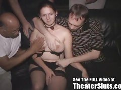 Missy Gets An Ass Tulip Creampie In A Dark Porn Theater