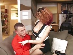 Amazing Joslyn James seduces this dude with her titties