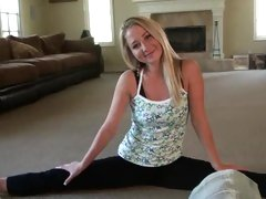 This scorching ex girlfriend is one flexible babe