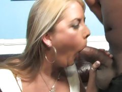 Jocklyn Stone mom do hard suck job in front of her son