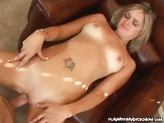 Katie May is an old hoe who knows how to suck a young dick dry