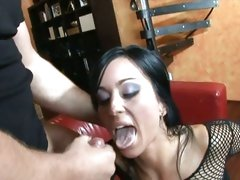 Scorching Simon Peach loves getting blasted with jizz