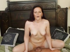 Caroline Pierce gets pussy ripped off by a hard dick