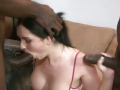 Sizzling Angell Summers drools on these dicks