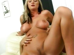 Allison Kilgore blonde nailed by her guy on couch
