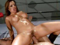 Fuckable Francesca Le rides cock in the ring