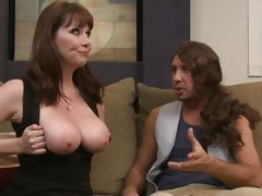 Amazing Rayveness gets her huge titties out