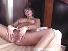 Ping Pong Ball Moist Pussy Insertion Part 1