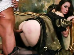 Vivacious Paige Turner loves getting her pussy hammered