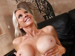 Emma Starr gets her globes glazed with goo