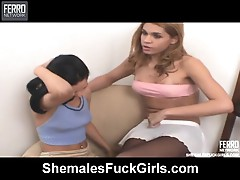 Andreamel tranny and pussylady on episode