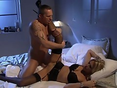 Blonde Jessica drake receives totally drilled on her twat she couldn't help Moaning