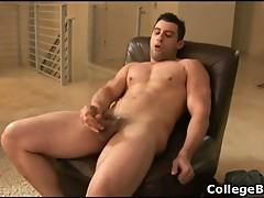 Nick Torretto wanking his fine cock