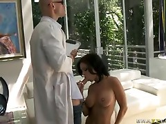 Filthy brunette Jessica jaymes eagerly giving her Man's Rod so much joy