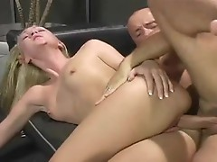 Alexis Malone receives her cum reward after an awesome cookie slamming