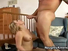 Sex bombshell Amber Ashley deserves an awesome explosion of ball batter after fucking