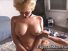MILF with a pinned clitoris