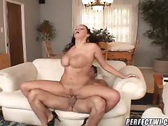 Gianna Michaels titfucked & twat screwed