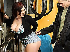 Insanely Hot MILF Claire Dames Rides Cock Til She Cums