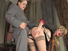 Susanna and Joanna frisky anal lesbian video