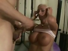 Hawt paramour Lichelle Marie is rewarded with fresh cum in her Mouth