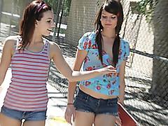 18 Year-Old Mary Jane Seduces Hottie Cassandra!