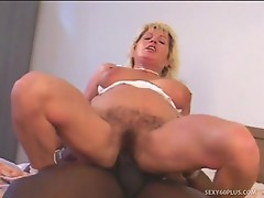 Stacked milf renate dark dicked in a-hole