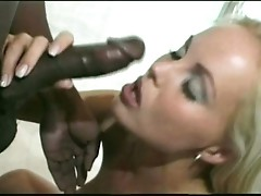 Silvia saint rammed hard on her ass by black cock