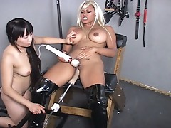 Fucking machines for hot lesbians