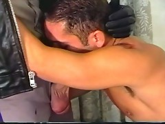 Hot gay sex between dude and policeman