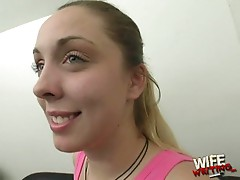 Roxy babe shows how she loves big hard cocks