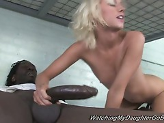 Alexia skye imprisoned while her dad watches her getting fucked