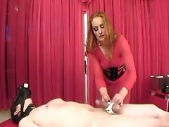 Ball busting bdsm femdom torture by mistress gemini