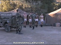 Military group-sex with gay fucks roman ragazzi & jake deckard
