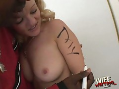 Jessica dee wants to plug this big hard black cock