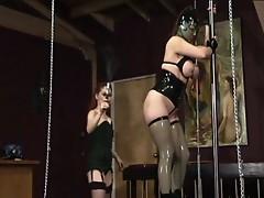 Mistress gemini and jewel marceau in lesbian punishment