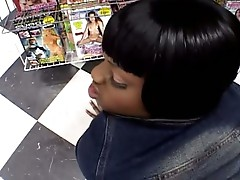 Black beauty ass fucked in this free tube video