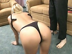 Hot fetish sex for horny blonde