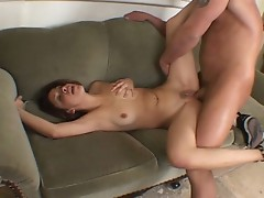 Married woman gone wild on the couch