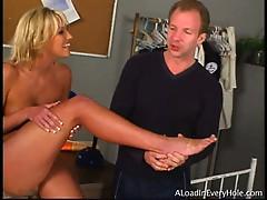 Sexy feet an pierced nipples ashley more